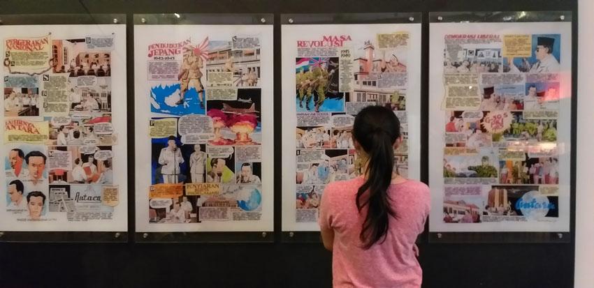 galeri antara pasar baru