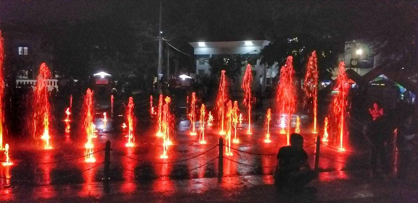 singing fountain taman kota tasikmalaya