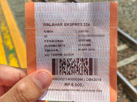 tiket kereta walahar ekspress