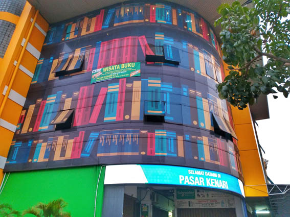 Wisata Buku Pasar Kenari Jakarta