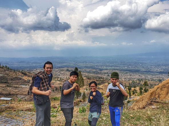 pendakian gunung sumbing
