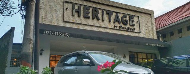heritage by tan goei