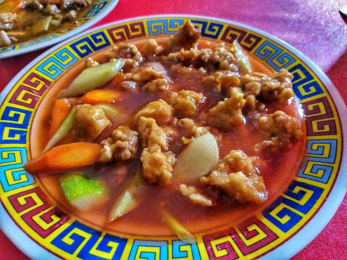ayam kuluyuk seafood lautze