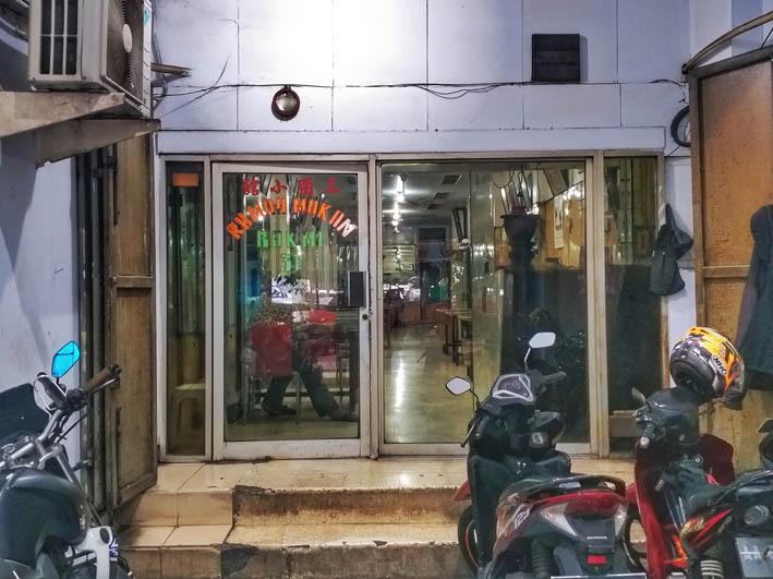 Bakmi 31 toko tiga